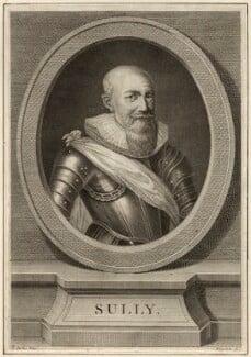 Maximilian de Bethune, duc de Sully, by Vincenzio Vangelisti, after  Frans Pourbus - NPG D26228