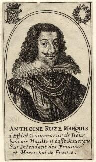 Antoine Coiffier-Ruzé, Marquis d'Effiat, after Unknown artist - NPG D26231