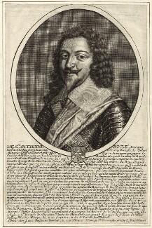Antoine Coiffier-Ruzé, Marquis d'Effiat, by Louis Boissevin - NPG D26232