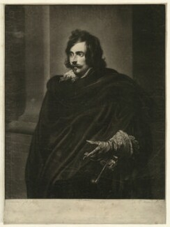Antoine Coiffier-Ruzé, Marquis d'Effiat, by Thomas Blackmore, after  Sir Anthony van Dyck - NPG D26233
