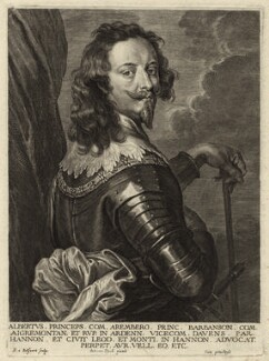 Albert, Count of Arenberg, by Schelte Bolswert, after  Sir Anthony van Dyck - NPG D26236