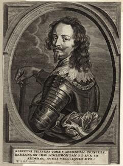 Albert, Count of Arenberg, by Pieter de Jode I, early to mid 17th century - NPG D26237 - © National Portrait Gallery, London