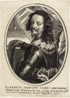 Albert, Count of Arenberg, after Unknown artist, mid 17th century - NPG D26238 - © National Portrait Gallery, London