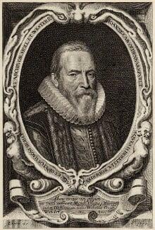Sir John van Olden Barnavelt (Johan van Oldenbarnevelt), by Willem Jacobsz Delff - NPG D26242