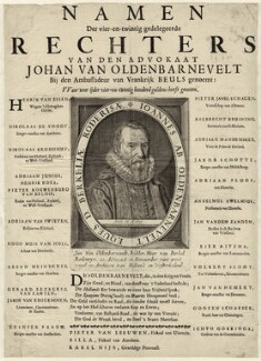 Sir John van Olden Barnavelt (Johan van Oldenbarnevelt), after Unknown artist - NPG D26249