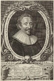 Huigh De Groot (Hugo Grotius), by Willem Jacobsz Delff, after  Michiel Jansz. van Miereveldt - NPG D26254