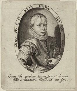 Huigh De Groot (Hugo Grotius), by Jacob de Gheyn - NPG D26259