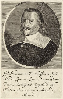 Aloysius Contareno, possibly by Lucas Vorsterman - NPG D26261