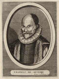 Emanuel van Meteren, by Edme de Boulonois - NPG D26262