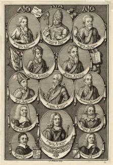 The Rantzau Family, by Johannes Jakosbz Folkema - NPG D26277