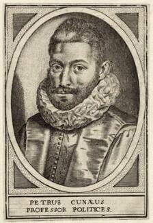 Peter Cunæus, after Unknown artist - NPG D26282