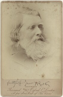 John Ruskin, by Herbert Rose Barraud - NPG x1513