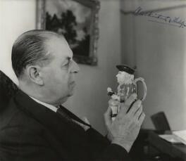 Harold Vincent Mackintosh, 1st Viscount Mackintosh, by Tom Blau - NPG x20336