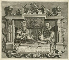 Gerardus Mercator and Jodocus Hondius, after Unknown artist - NPG D26294
