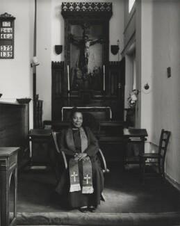Esmé Christiana Beswick (née Coleman), by Don McCullin - NPG P1282