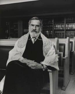 Jonathan Henry Sacks, Baron Sacks, by Don McCullin - NPG P1286
