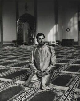 Sir Iqbal Sacranie, by Don McCullin - NPG P1287