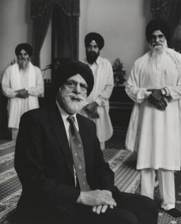 Indarjit Singh, by Don McCullin - NPG P1289