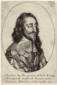 King Charles I, by Wenceslaus Hollar - NPG D26312