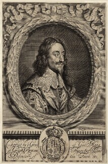 King Charles I, by Robert White, after  Sir Anthony van Dyck - NPG D26313