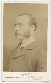 Charles Stewart Parnell, by William Mervyn Lawrence, 1880 - NPG x12655 - © National Portrait Gallery, London