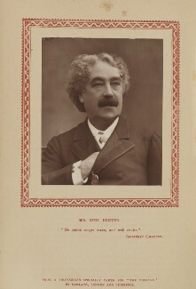 (John) Sims Reeves, by Herbert Rose Barraud, published by  Strand Publishing Company - NPG Ax9336