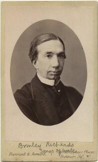 Henry Brinley Richards, by Barraud & Jerrard - NPG x32355