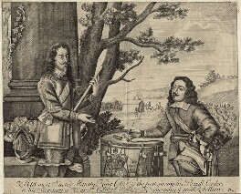 King Charles I and Sir Edward Walker, after Unknown artist, mid to late 17th century - NPG D26326 - © National Portrait Gallery, London
