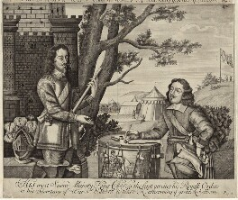 King Charles I and Sir Edward Walker, after Unknown artist, mid to late 17th century - NPG D26327 - © National Portrait Gallery, London