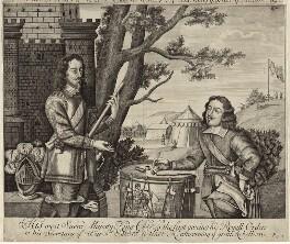 King Charles I and Sir Edward Walker, after Unknown artist - NPG D26327