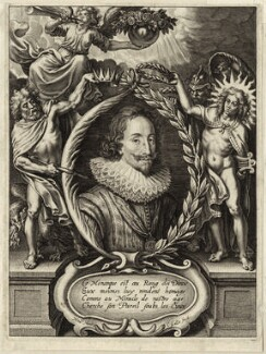 King Charles I, by Cornelis Galle the Younger, after  Nicolaus van der Horst - NPG D26328