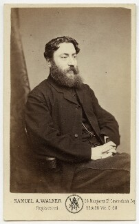 Thomas William Robertson, by Samuel Alexander Walker - NPG x22064