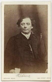 (Thomas) Frederick Robson (né Brownbill), by Adolphe Paul Auguste Beau - NPG x22079