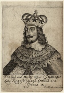 King Charles I, published by Peter Stent - NPG D26332