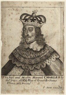 King Charles I, published by Peter Stent - NPG D26333
