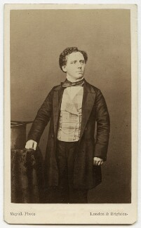 (Thomas) Frederick Robson (né Brownbill), by Mayall - NPG x22084