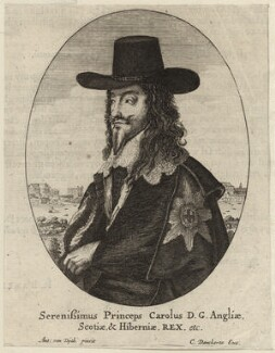 King Charles I, by Cornelis Danckerts - NPG D26339