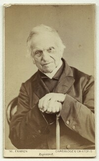 Adam Sedgwick, by William Farren - NPG x22397