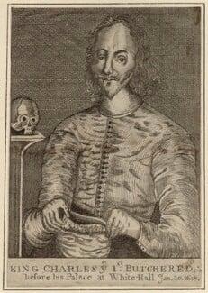 King Charles I, after Unknown artist - NPG D26341