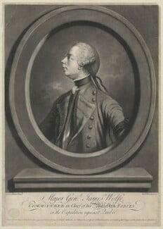 James Wolfe, by Richard Houston, after  John Stone Clifford Schaack (Shaak) - NPG D32129