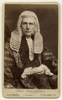 Roundell Palmer, 1st Earl of Selborne, by Alexander Bassano - NPG x12651