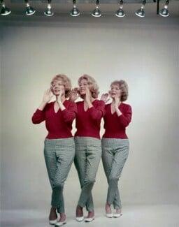 The Beverley Sisters (Babs Beverley; Joy Beverley; Teddie Beverley), by Angus McBean - NPG x131150