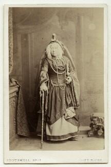 Clara Selby (Sarah Susannah Selby) as Rumpelstiltskin's grandmother in 'Rumpelstiltskin', by Southwell Brothers - NPG x22502