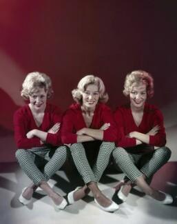 The Beverley Sisters (Babs Beverley; Joy Beverley; Teddie Beverley), by Angus McBean - NPG x131151