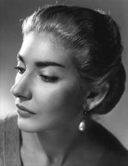 Maria Callas, by Angus McBean - NPG x131154