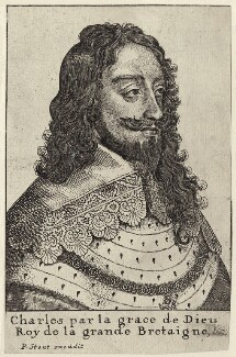 King Charles I, published by Peter Stent - NPG D26351