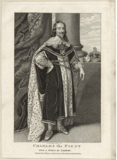 King Charles I, by George Perfect Harding, published by  Edward Evans - NPG D26356