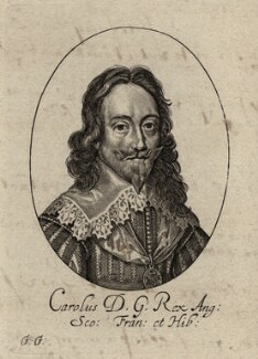 King Charles I, by George Glover - NPG D26359