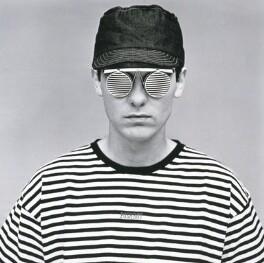 Chris Lowe, by Eric Watson, 20 July 1986 - NPG  - © Parlophone Records/Pet Shop Boys Partnership Ltd