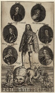 King Charles I and Oliver Cromwell, after Unknown artist - NPG D26365